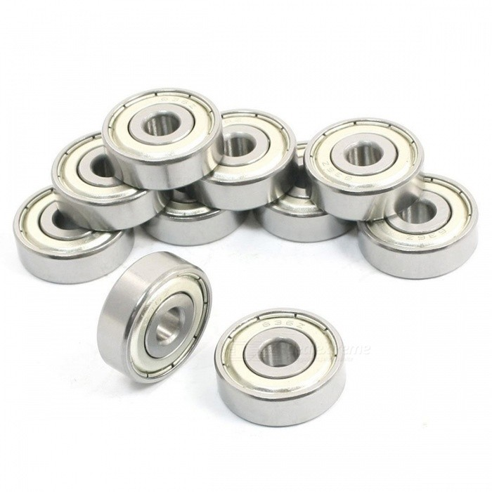 636Z 6mm x 22mm x 7mm Single Row Sealed Deep Groove Ball Bearings (10 PCS)DIY Parts &amp; Components<br>ColorSilverModel636ZQuantity10 DX.PCM.Model.AttributeModel.UnitMaterialMetalEnglish Manual / SpecNoCertificationNOPacking List10 x Deep groove ball bearings<br>