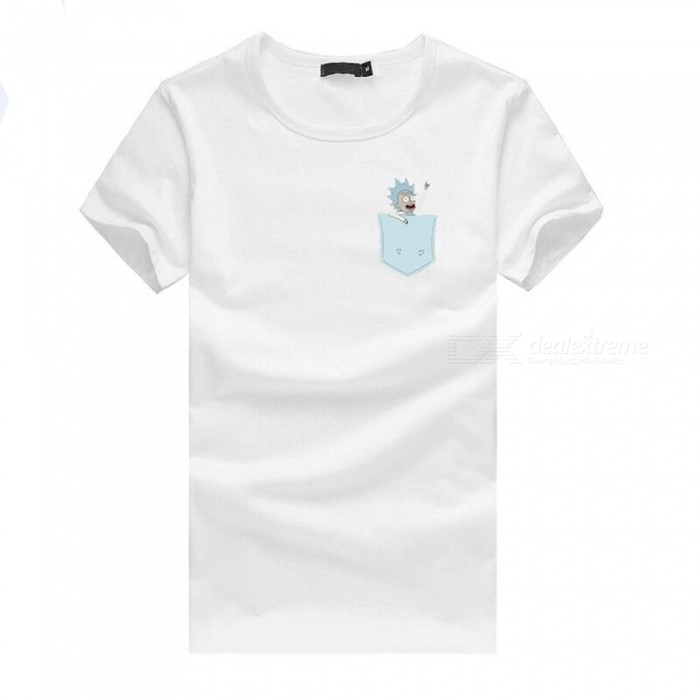 3D Small Man Style Fashion Personality Casual Cotton Short-Sleeved T-shirt for Men - White (3XL)Tees<br>ColorwhiteSize3XLQuantity1 DX.PCM.Model.AttributeModel.UnitShade Of ColorWhiteMaterialcottonShoulder Width55 DX.PCM.Model.AttributeModel.UnitChest Girth110 DX.PCM.Model.AttributeModel.UnitSleeve Length20 DX.PCM.Model.AttributeModel.UnitTotal Length73 DX.PCM.Model.AttributeModel.UnitSuitable for Height183 DX.PCM.Model.AttributeModel.UnitPacking List1 x T-shirt<br>