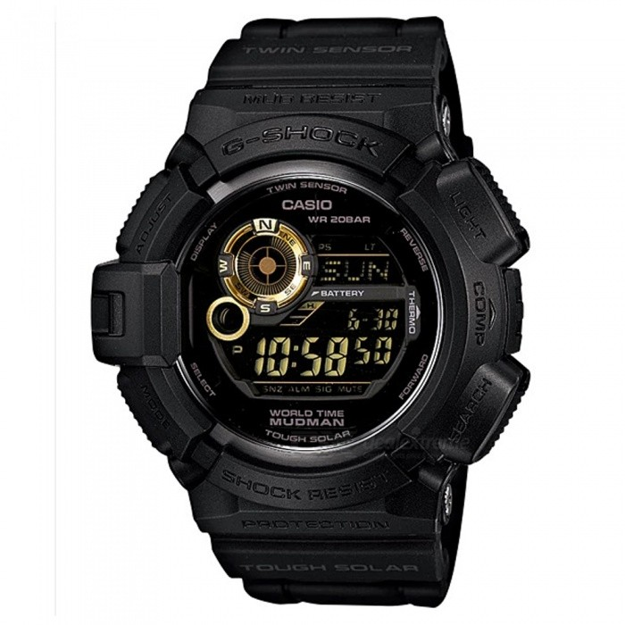 Casio G-Shock G-9300GB-1 Mudman Digital Watch - Black