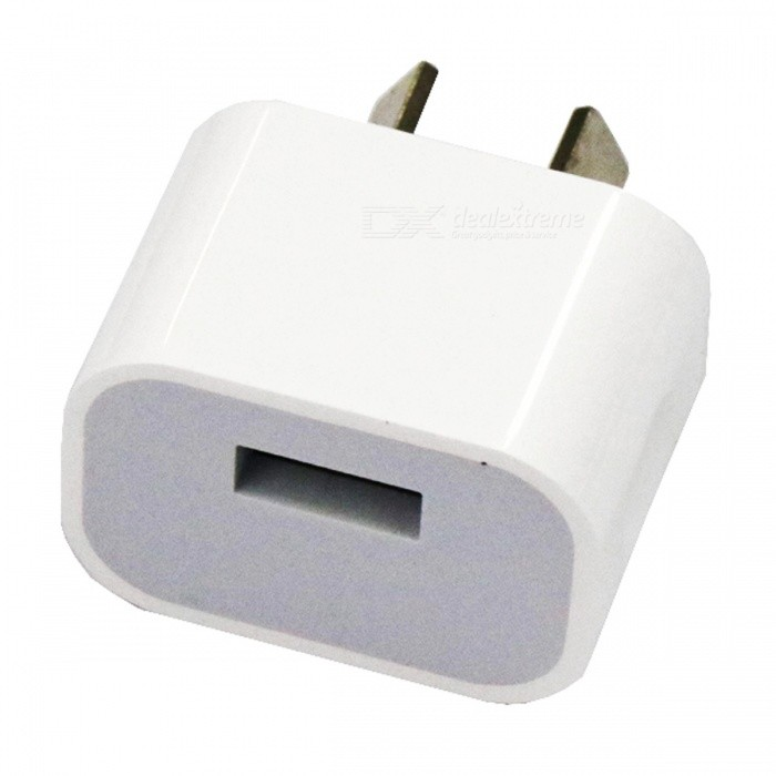 Portable Single USB Charging Head Power Adapter - AU Plug (AC100-240V)Plugs &amp; Sockets<br>Form  ColorAU PLUGForm  ColorAU PlugQuantity1 DX.PCM.Model.AttributeModel.UnitMaterialABSFireproof MaterialYesRate VoltageAC100-240VRated Current2 DX.PCM.Model.AttributeModel.UnitRated Power5 DX.PCM.Model.AttributeModel.UnitCompatible PlugOthers,USBGroundingNoOutlet1 DX.PCM.Model.AttributeModel.UnitWith Switch ControlNoSurge Protection FunctionYesLightning Protection FunctionYesWith FuseYesPower AdapterAU PlugPacking List1 x Charging head<br>