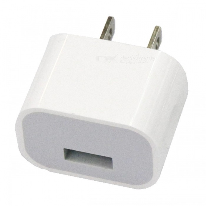 Portable Single USB Charging Head Power Adapter - US Plug (AC100-240V)Plugs &amp; Sockets<br>Form  ColorUS PLUGForm  ColorUS PlugQuantity1 DX.PCM.Model.AttributeModel.UnitMaterialABSFireproof MaterialYesRate VoltageAC100-240VRated Current1.5 DX.PCM.Model.AttributeModel.UnitRated Power5 DX.PCM.Model.AttributeModel.UnitCompatible PlugOthers,USBGroundingNoOutlet1 DX.PCM.Model.AttributeModel.UnitWith Switch ControlNoSurge Protection FunctionYesLightning Protection FunctionYesWith FuseYesPower AdapterUS PlugPacking List1 x Charging head<br>