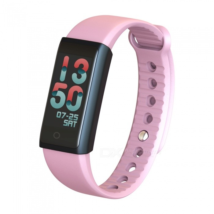 Eastor MY3 Colorful 0.96 LCD Screen Sport Smart Wristband, Fitness Bracelet w/ Sleep Monitor for IOS &amp; Android - PinkSmart Bracelets<br>ColorPinkModelMY3Quantity1 DX.PCM.Model.AttributeModel.UnitMaterialTPUShade Of ColorPinkWater-proofYesBluetooth VersionBluetooth V4.0Touch Screen TypeYesOperating SystemNoCompatible OSios9.0 +, android4.4 +Battery Capacity80 DX.PCM.Model.AttributeModel.UnitBattery TypeLi-polymer batteryStandby Time3~4 DX.PCM.Model.AttributeModel.UnitPacking List1 x Smart Bracelet<br>