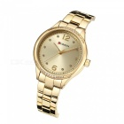 CURREN 9003 Stylish Wrist Watch for Women - Golden