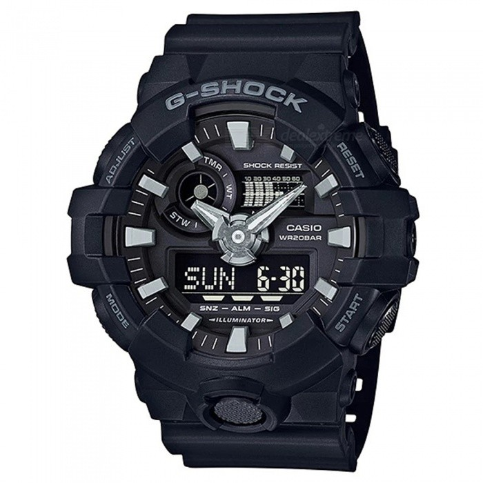 Relogio Digital Casio G-shock GA-700-1B - Preto