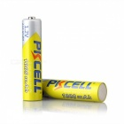 PKCELL Ni-MH 1.2V 1000mAh AAA Battery 3A Rechargeable Battery Batteries with Two Battery Holder Case Box - 8PCS colerful