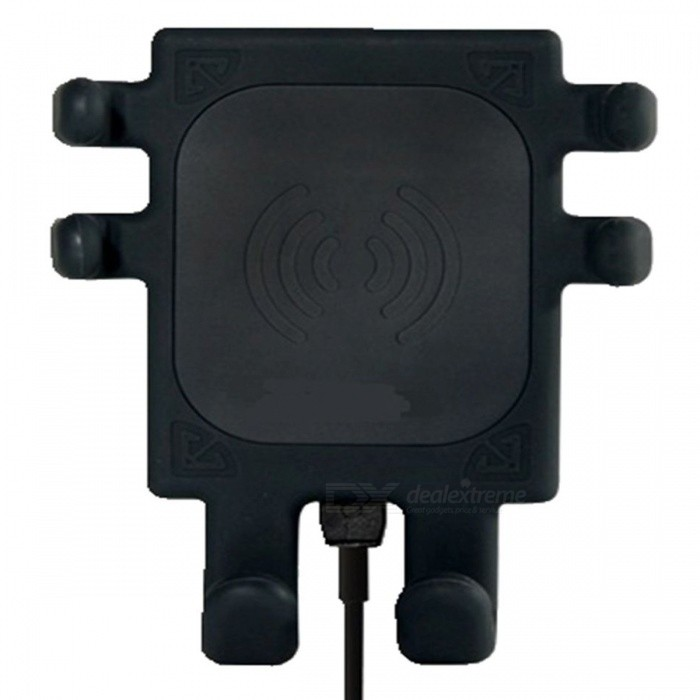 LP-801 Wireless Car Charger Phone Bracket Holder - BlackCar Power Chargers<br>ColorBlackModelLP-801Quantity1 DX.PCM.Model.AttributeModel.UnitMaterialABSInput VoltageOthers,5 DX.PCM.Model.AttributeModel.UnitOutput Voltage5 DX.PCM.Model.AttributeModel.UnitOutput Current1.5 DX.PCM.Model.AttributeModel.UnitApplicationUniversal phonePacking List1 x Car wireless charger1 x Bracket1 x Clip1 x USB  Cable<br>