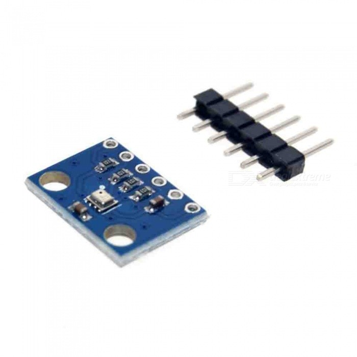 Produino BME280 Swap I2C/SPI BMP280 3.3V Digital Barometric Pressure Sensor Board - BlueSensors<br>Form  ColorBlueForm  ColorBlueModelGY-BMP280-3.3Quantity1 DX.PCM.Model.AttributeModel.UnitMaterialPCBApplication100% Brand New and High Quality!<br>High precision, ultra-low power consumption pressure sensors, can be applied to mobile devices.<br>Low energy consumption.<br>Eliminates the need for an external clock circuit.Working Voltage   3.3 DX.PCM.Model.AttributeModel.UnitEnglish Manual / SpecNoDownload Link   NOPacking List1 x Module<br>