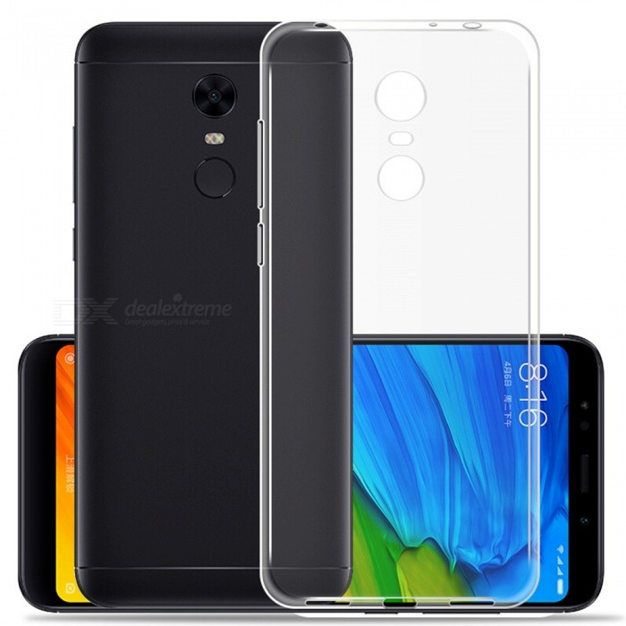 newest collection ea596 46724 Naxtop TPU Ultra-thin Soft Case for Xiaomi Redmi 5 Plus - Transparent