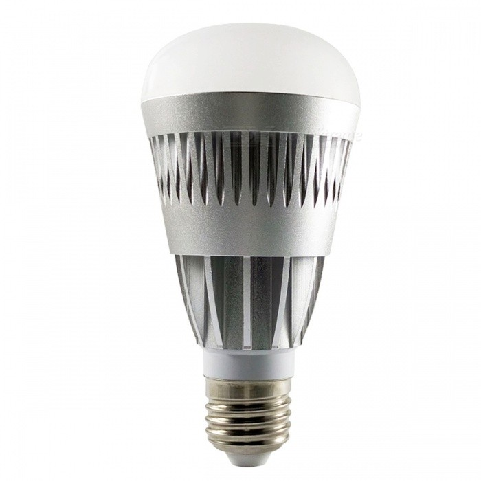 Buy E27 10W RGBW Changable Color LED Bulb, Smart Bluetooth V4.0 Wireless Remote Dimmable LED Light for IOS Android 10w/changeable with Litecoins with Free Shipping on Gipsybee.com