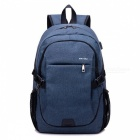 Ctsmart-YZ531-Waterproof-Anti-Theft-Backpack-with-USB-Charging-Port-for-Outdoor-Cycling-Mountaineering-Hiking-Blue