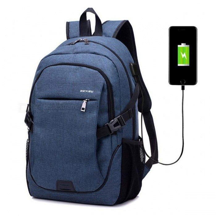 6ea5c15faa ... Ctsmart YZ531 Waterproof Anti-Theft Backpack with USB Charging Port for  Outdoor Cycling Mountaineering Hiking