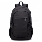 Ctsmart-YZ531-Waterproof-Anti-Theft-Backpack-with-USB-Charging-Port-for-Outdoor-Cycling-Mountaineering-Hiking-Black