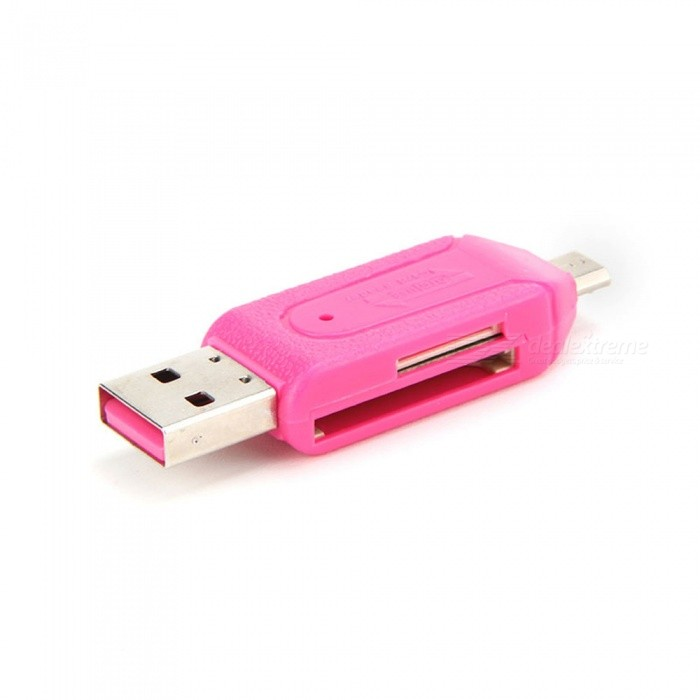 5PCS USB Mini USB TF Card Reader - PinkCard Readers<br>ColorPinkQuantity5 DX.PCM.Model.AttributeModel.UnitShade Of ColorPinkMaterialPlasticInterfaceUSB 2.0Supports Card TypeMicroSD (TF),TFMax. Memory Supported64GBSlot Number1Support card quantity simultaneously2Indicator LightNoSupports SystemWin xp,Win7 32Packing List5 x Card Reader<br>