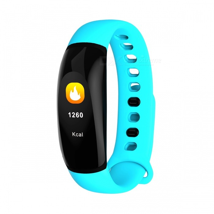 Eastor U8 Plus IP67 Waterproof Color LED Bluetooth Smart Band Bracelet w/ Heart Rate, Blood Pressure Monitor - BlueSmart Bracelets<br>ColorBlueModelU8 PLUSQuantity1 DX.PCM.Model.AttributeModel.UnitMaterialTPUShade Of ColorBlueWater-proofIP67Bluetooth VersionBluetooth V4.0Touch Screen TypeYesOperating SystemNoCompatible OSIOS 8.0 and above and Android 4.4 and above.Battery Capacity110 DX.PCM.Model.AttributeModel.UnitBattery TypeLi-polymer batteryStandby Time8 DX.PCM.Model.AttributeModel.UnitPacking List1 x Smart band<br>