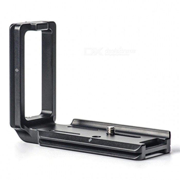 SUNWAYFOTO PSL-a7RIII Professional L-Shaped Bracket for Sony a7RIII Model - BlackTripods and Holders<br>ColorBlackModelPSL-a7RIIIMaterialAluminium alloyQuantity1 DX.PCM.Model.AttributeModel.UnitTypeOthers,L-bracketRetractableNoFull Size Length: 105mm; Width: 39mm; Height: 81 DX.PCM.Model.AttributeModel.UnitPacking List1 x Camera screw1 x Velvet bag4 x Safety screws1 x 2.5mm wrench1 x Cleaning cloth<br>