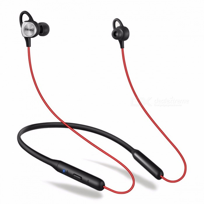 Meizu EP52 Waterproof IPX5 Bluetooth Earphone, Sport Wireless Earphone with 8 Hours Battery Life for Running Exercise Red