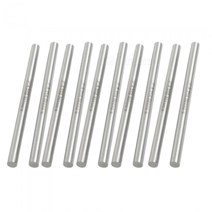 10Pcs  6mm x 100mm High Speed Steel Lathe Round Bar Milling CuttersDIY Parts &amp; Components<br>ColorSilverModel6.0X100Quantity10 DX.PCM.Model.AttributeModel.UnitMaterialHSSEnglish Manual / SpecNoCertificationNOPacking List10 x Lathe Round Rods<br>