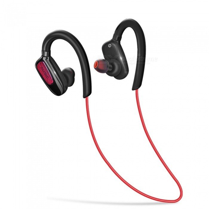 S5 HIFI Bluetooth CSR4.1 Sports Ear-hook Earphone, Sweatproof Wireless Earbuds with Mic - Black + RedHeadphones<br>ColorBlack + RedBrandOthers,N/AModelS5MaterialABS +TPEQuantity1 DX.PCM.Model.AttributeModel.UnitConnectionBluetoothBluetooth VersionBluetooth V4.1Bluetooth ChipCSR8635Operating Range10MConnects Two Phones SimultaneouslyYesCable Length60 DX.PCM.Model.AttributeModel.UnitLeft &amp; Right Cables TypeEqual LengthHeadphone StyleBilateral,Earbud,In-EarWaterproof LevelIPX4Applicable ProductsUniversal,IPHONE 7,IPHONE 7 PLUSHeadphone FeaturesHiFi,Long Time Standby,Noise-Canceling,Volume Control,With Microphone,For Sports &amp; ExerciseRadio TunerNoSupport Memory CardNoSupport Apt-XYesChannels2.0Sensitivity110THDFrequency Response20-20000HzImpedance16 DX.PCM.Model.AttributeModel.UnitBattery TypeLi-polymer batteryBuilt-in Battery Capacity 120 DX.PCM.Model.AttributeModel.UnitStandby Time100 DX.PCM.Model.AttributeModel.UnitTalk Time6 DX.PCM.Model.AttributeModel.UnitMusic Play Time12 DX.PCM.Model.AttributeModel.UnitPower AdapterUSBPower Supply5V 1APacking List1 x S5 Bluetooth Earphone3 Sets x Ear caps 1 x User manual<br>