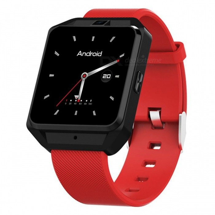 M5 Smart Watch, Support 4G Network, Wi-Fi, GPS Navigation, 5.0MP Camera, Heart Rate Monitor - RedSmart Watches<br>ColorRedModelM5Quantity1 DX.PCM.Model.AttributeModel.UnitMaterialABSShade Of ColorRedCPU ProcessorMTK6737Screen Size1.54 DX.PCM.Model.AttributeModel.UnitScreen Resolution240*240Touch Screen TypeYesBluetooth VersionBluetooth V4.0Compatible OSAndroid 6.0LanguageSimplified Chinese, Traditional Chinese, English, German, Spanish, Italian, French, Portuguese-Portugal, Portuguese-Brazilian, Russian, Indonesian, Malay, Polish,<br>Vietnamese, Hebrew, Arabic, Persian, Thai,<br>Burmese, Turkish, Japanese, KoreanWristband Length22 DX.PCM.Model.AttributeModel.UnitWater-proofIP67Battery ModeNon-removableBattery TypeLi-polymer batteryBattery Capacity600 DX.PCM.Model.AttributeModel.UnitStandby Time5-7 DX.PCM.Model.AttributeModel.UnitPacking List1 x Smart Watch 1 x USB Charging Cable 1 x User Manual<br>