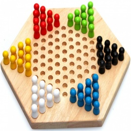 Wooden-Desktop-Game-Checkers-Educational-Toy-for-Children-Adults