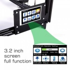 Flsun i3 DIY 3D Printer Kit w/ Large Printing Area 300*300*420mm, Autolevel, Touch Screen, Dual Nozzle - Black (US Plug)