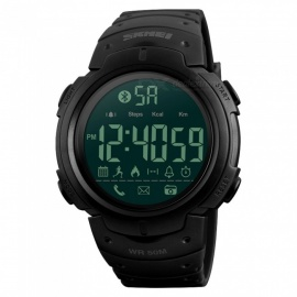 SKMEI-1301-Mens-Bluetooth-Digital-Wristwatch-Sport-Smartwatch-w-Pedometer-for-IPHONE-Android