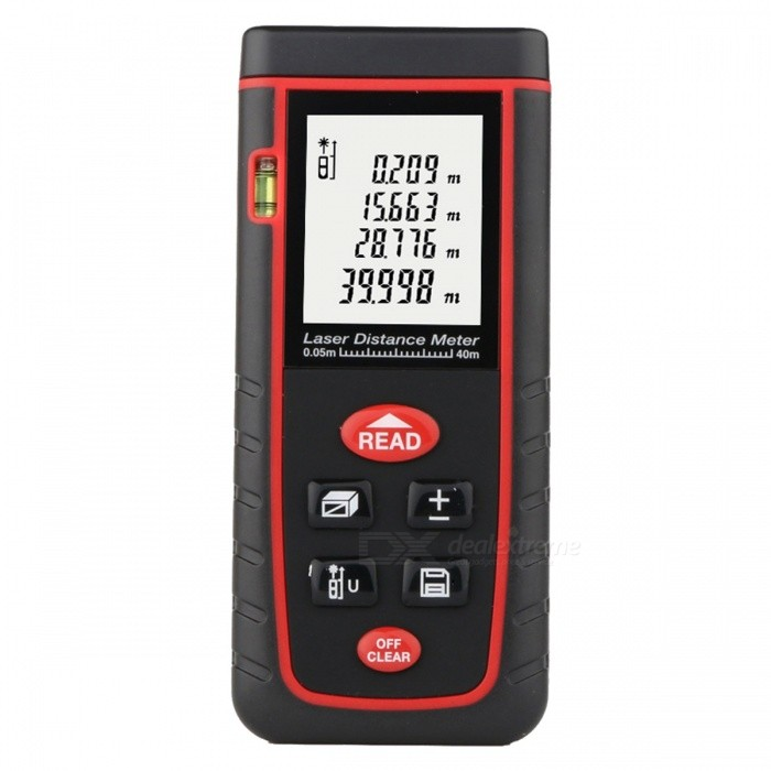 RZ-S40 Portable 40m Laser Distance Meter with LCD Display