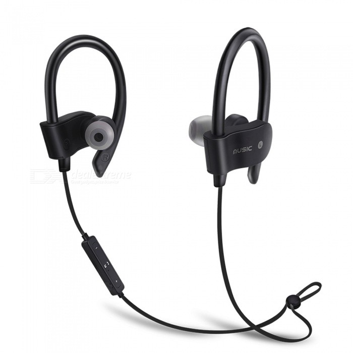 56S Sports Wireless Bluetooth Ear Hook Style In-Ear Earphones Sweatproof Stereo Earbuds Headset with Mic for Smartphone - BlackHeadphones<br>ColorBlackBrandOthers,EastorModel56SMaterialABSQuantity1 DX.PCM.Model.AttributeModel.UnitConnectionBluetoothBluetooth VersionBluetooth V4.1Bluetooth ChipCSROperating Range10MConnects Two Phones SimultaneouslyYesCable Length55 DX.PCM.Model.AttributeModel.UnitLeft &amp; Right Cables TypeEqual LengthHeadphone StyleIn-Ear,NeckbandWaterproof LevelIPX2Applicable ProductsUniversalHeadphone FeaturesEnglish Voice Prompts,Long Time Standby,Noise-Canceling,Volume Control,With Microphone,Lightweight,Portable,For Sports &amp; ExerciseRadio TunerNoSupport Memory CardNoSupport Apt-XNoBattery TypeLi-polymer batteryBuilt-in Battery Capacity 20 DX.PCM.Model.AttributeModel.UnitStandby Time200 DX.PCM.Model.AttributeModel.UnitTalk Time6 DX.PCM.Model.AttributeModel.UnitMusic Play Time4-5 DX.PCM.Model.AttributeModel.UnitPower AdapterUSBPower Supply5V 1APacking List1 x Bluetooth Earphone1 x USB Cable<br>