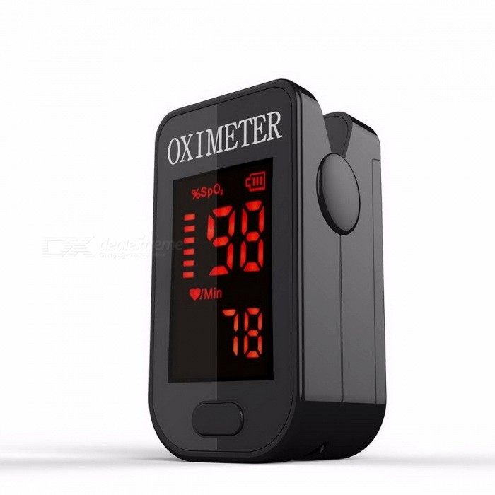 Household-Mini-CE-Medical-Health-Heart-Rate-Monitor-LED-Fingertip-Finger-Blood-Oxygen-Pulse-Oximeter-Black