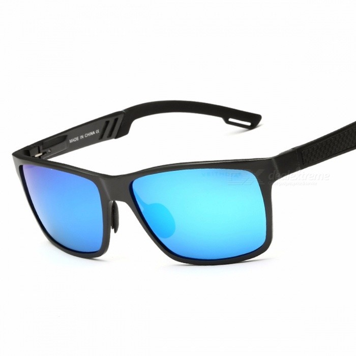 VEITHDIA-6560-Mens-Aluminum-Anti-Reflective-Polarized-Sunglasses-Square-Mirror-Sun-Glasses-Goggle-Eyewear-for-Men-Blue