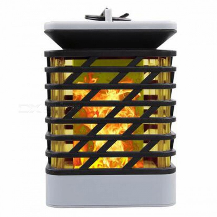 P-TOP-12W-Flame-Style-Solar-Powered-Outdoor-LED-Lawn-Lamp-Decorative-Landscape-Light-Courtyard-Garden-Lamp