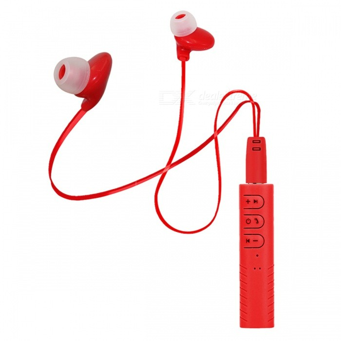 Sports Wireless Bluetooth V4.1 Earphones Headphones Headset - Red