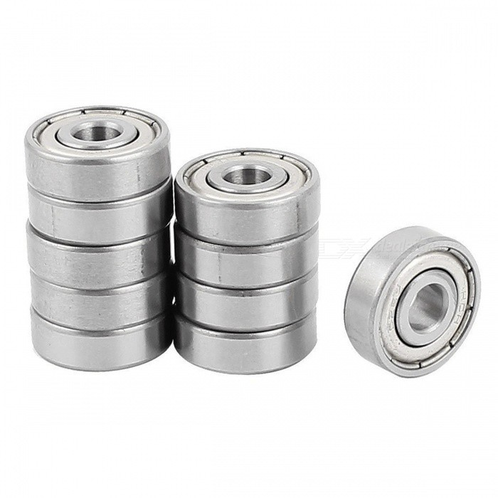 RXDZ 626Z 6 x 19 x 6mm Double Metal Shielded Miniature Metric Ball Bearings (10 PCS)DIY Parts &amp; Components<br>ColorSilverModel626zQuantity10 DX.PCM.Model.AttributeModel.UnitMaterialMetalEnglish Manual / SpecNoCertificationNOPacking List10 x Deep Groove Ball Bearings<br>