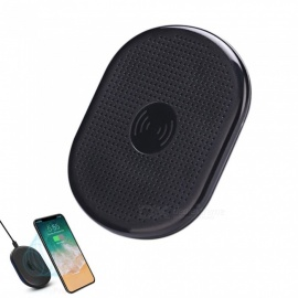 Fast Wireless Charger Stand, Qi Charging Pad for Samsung / IPHONE 8 / IPHONE X - Black