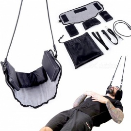 Pain-Relief-Massager-Traction-Device-Neck-Hammock-Pressure-Tension-Headaches-Cervical-Posture-Alignment-Support-Hammock-for-Neck-Black