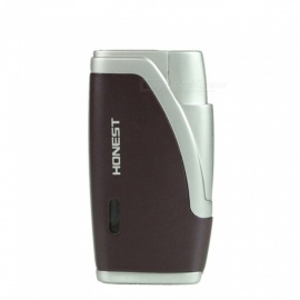 HONEST-Torch-Jet-Lighter-Windproof-Gas-Lighter-without-Gas-Purple