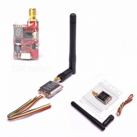 ReadytoSky TS5828 / TS5828L Micro 5.8GHz 600mW 48 Channels Mini FPV Transmitter with Antenna, Digital Display TS5828L and Camera