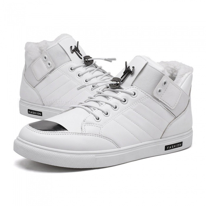 CTSmart-2026-Outdoor-Winter-Fur-Artificial-Wool-Warm-High-Top-Casual-Shoes-White-(Size-44)