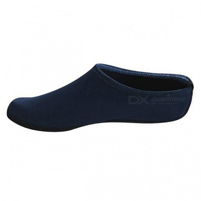 P-TOP Quick Dry Non-slip Seaside Durable Snorkeling Socks for Beach Shoes Fins Flippers Shoes - Dark Blue (XL)Other Protectors<br>ColorDark BlueSizeXLQuantity1 DX.PCM.Model.AttributeModel.UnitMaterialNeopreneGenderUnisexSuitable forAdultsOther FeaturesL:  21cm/37-38<br>XL:  22cm/39-41<br>XXL: 24cm/42-44Packing List1 x Snorkeling Socks<br>