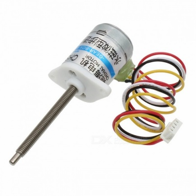 ChiHai Motor CHS-GM15BY 2-Phase 4-Wire Stepper Gear Motor w/ 30 Ohm DC 5.0V M3 Screw Out Shaft