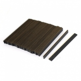 YENISEI-Straight-Female-PCB-Header-40-Way-254mm-Spacing-Connector-Black-(80-PCS)