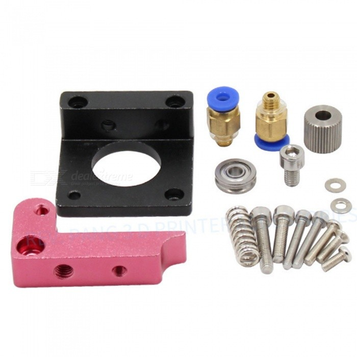 ZHAOYAO MK8 All-metal Remote 1.75mm Extruder Accessories for 3D Printer (Left + Right)3D Printer Parts<br>ColorBlack + MulticolorModelMK8Quantity1 DX.PCM.Model.AttributeModel.UnitMaterialMetalOther FeaturesFor 1.75mm / 3mm suppliesPacking List1 x Right direction extruder1 x Left direction extruder<br>