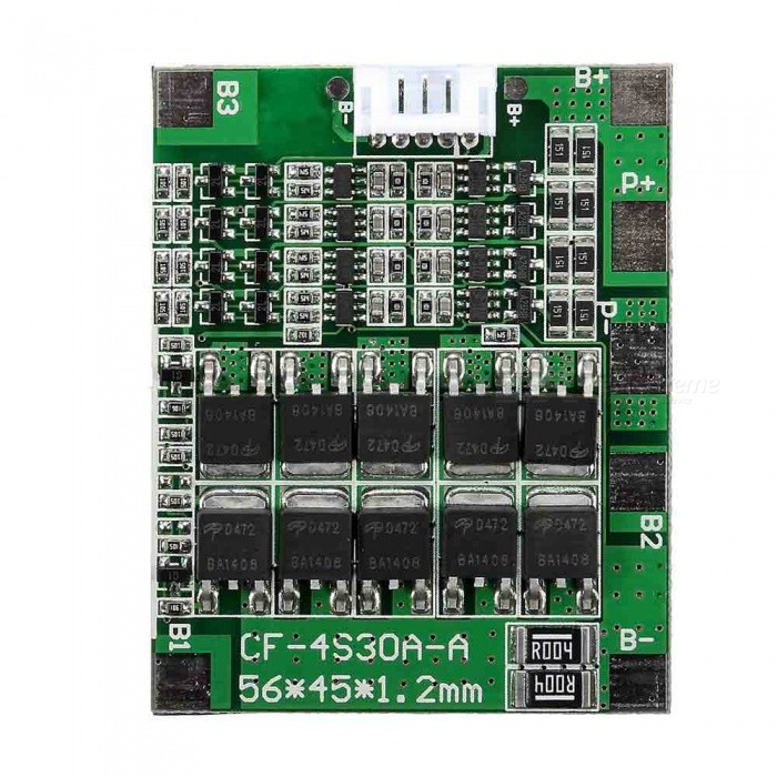 ZHAOYAO-4S-30A-148V-Li-ion-Lithium-18650-Battery-BMS-Pack-PCB-Protection-Board-Balance-Integrated-Circuit