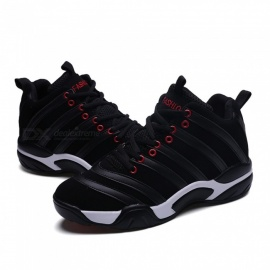 8818-Outdoor-Stylish-Anti-Skid-Casual-Shoes-Mountaineering-Shoes-Black-(Size-42)