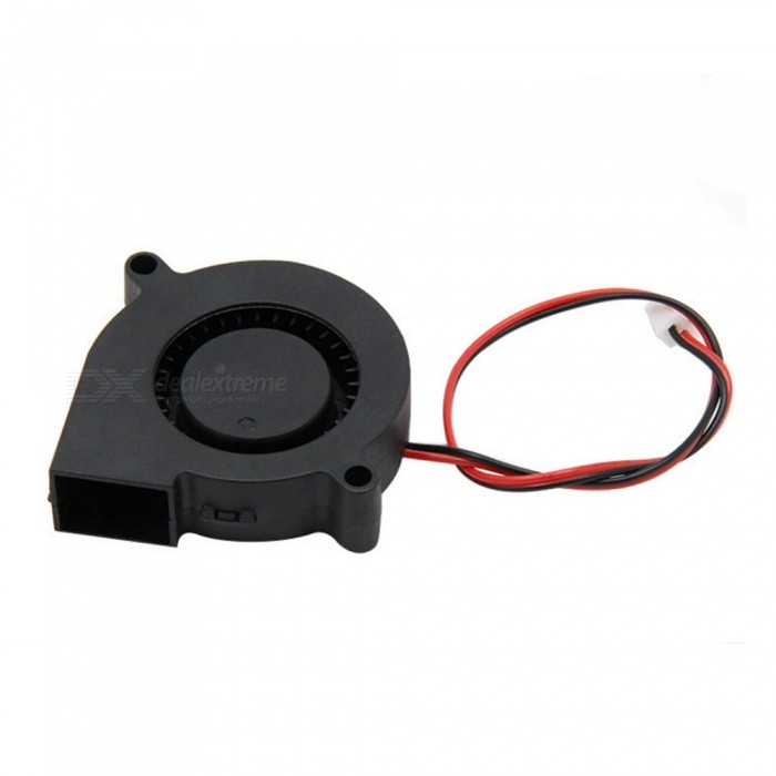 Buy ZHAOYAO 5015  50 * 50 * 15mm 12V 0.23A Blower Cooling Fan for 3D DIY Accessories with Litecoins with Free Shipping on Gipsybee.com