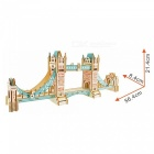 DIY Tower Bridge Style 3D Wooden Three-Dimensional Puzzle Educational Toy