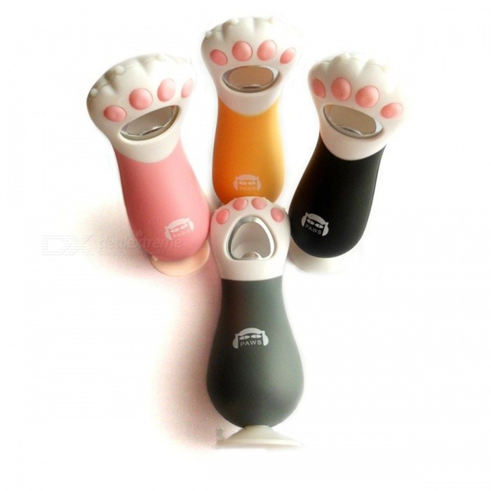 Buy Urijk Creative Cat Paw Bottle Opener Cute Bottle Tools With Collection Paw Glass Wine Opener Easy Grip Safe Kitchen Gadget Grey with Litecoins with Free Shipping on Gipsybee.com