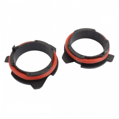 MZ H7 LED Headlight Bulb Holder Adapter Retainers for BMW 5 Series (2 PCS)