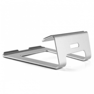 Stylish Portable Aluminum Alloy Stand Bracket Support Holder for Laptop Notebook - Silver