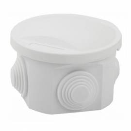 ZHAOYAO-10Pcs-50-x-50mm-ABS-Plastic-Waterproof-Junction-Box-with-Hole-for-Round-Cable